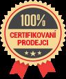 100% certifikovaní prodejci